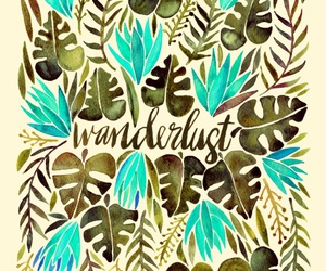 wanderlust, background, and quotes image