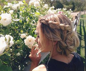 braid, hairstyles, and hairstyle image