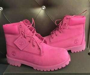 pink, fashion, and boots image