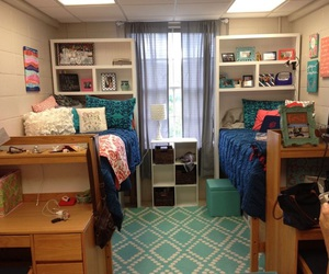 college and dorm rooms image