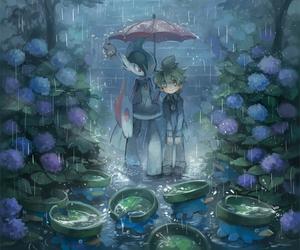 pokemon, gallade, and lotad image