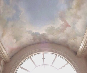 aesthetic, clouds, and pale image