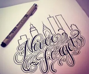 drawing, frases, and tattoo image