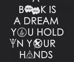book, Dream, and harry potter image