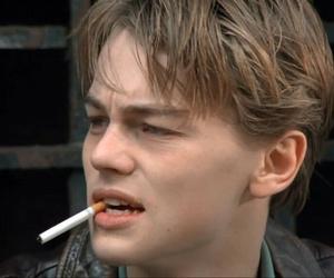leonardo dicaprio, cigarette, and boy image