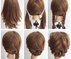 how to, DIY, and hair image