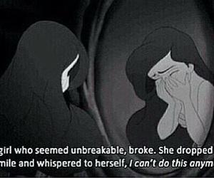 broken, ariel, and sad image