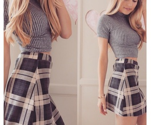 pretty, school style, and as if image