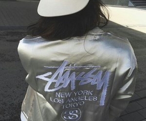 i love and stussy image