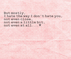 10 things i hate about you, i hate you, and i miss you image