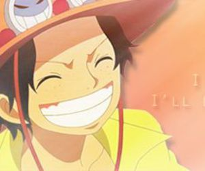 ace, one piece, and quote image