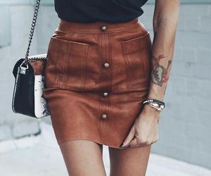 fashion, fashionista, and leather image