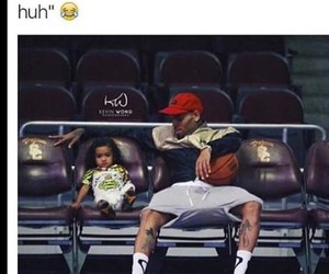 funny, chris brown, and roy image