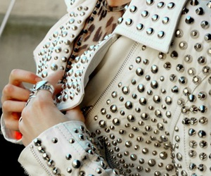 fashion, rivets, and white image