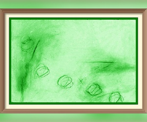 green and painting image