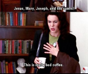 gilmore girls, funny, and quote image