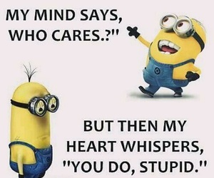 funny, minions, and funny quotes image