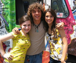 2000s, on set, and victoria justice image