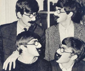the beatles, beatles, and funny image