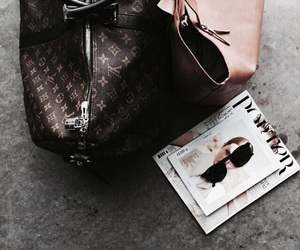 fashion, LV, and bag image