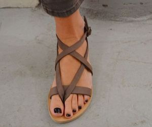 sandals, shoes, and summer image