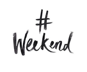 weekend, quotes, and text image