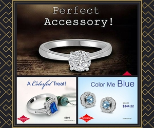 earrings, rings, and diamond jewelry image