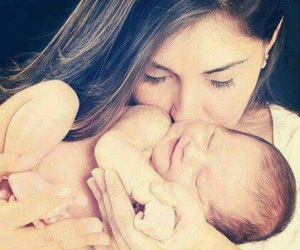 baby and mother image