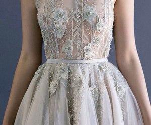 dress, white, and paolo sebastian image