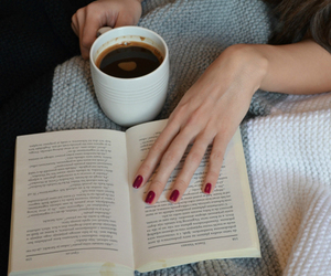 nails, book, and coffee image