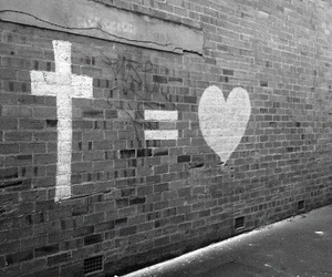 love, jesus, and god image