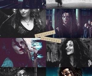 harry potter, bellatrix lestrange, and helena bonham carter image