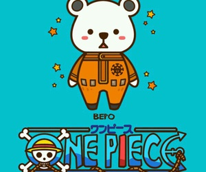 one piece and bepo image