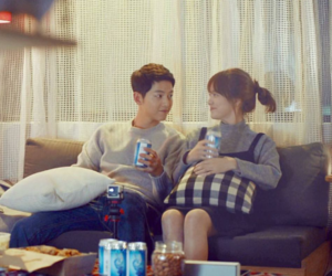 couple, dots, and kdrama image