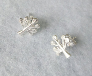 earrings, etsy, and tree image