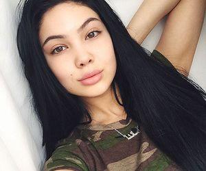 girl, hair, and amanda khamkaew image