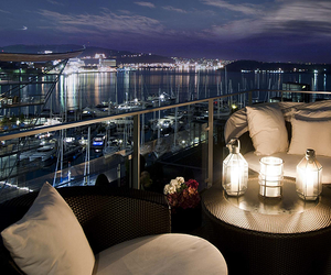 luxury, night, and view image