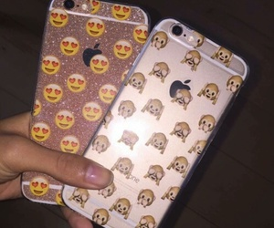 case, emoji, and iphone image