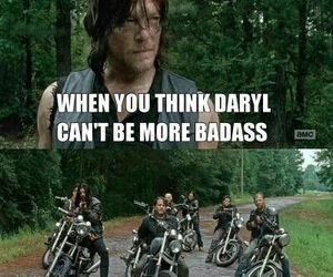 the walking dead, badass, and daryl dixon image
