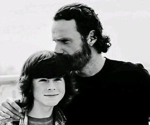 twd, rick grimes, and chandler riggs image