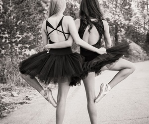 ballet, best friends, and bff image