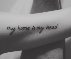 home and tattoo image