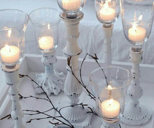 candles and white image