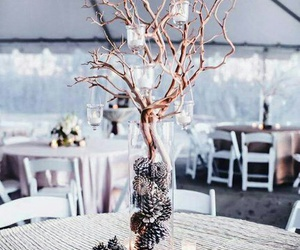 candles and tree image