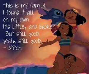 stitch, family, and disney image