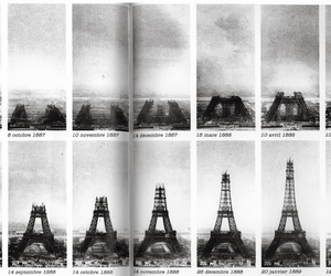 architecture, building, and eiffel tower image