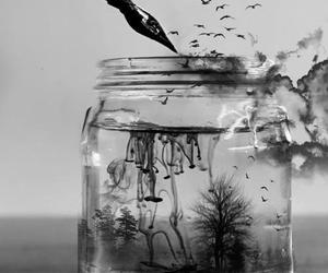 freedom, writing, and water image