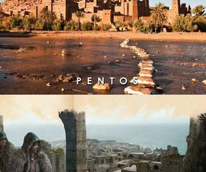 game of thrones, pentos, and lorath image