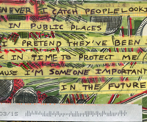 post secret, quote, and time travel image
