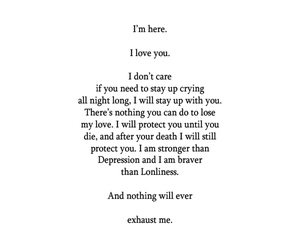 quotes, poem, and depression image